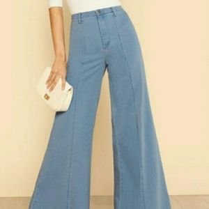 NWT Wide Leg Jeans